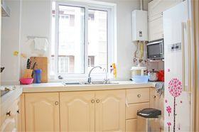 富裕型90平米三室两厅欧式风格厨房欣赏图