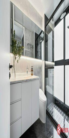 110平米三室两厅北欧风格卫生间装修效果图