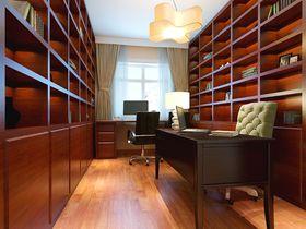 70平米中式风格书房装修图片大全