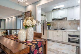 100平米三室两厅美式风格厨房装修案例