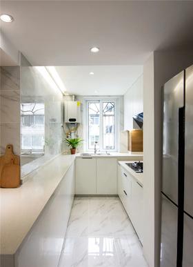 80平米三室兩廳現代簡約風格廚房裝修圖片大全