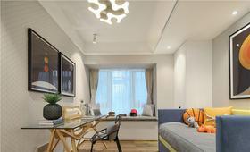 70平米現代簡約風格客廳效果圖