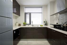 經濟型80平米北歐風格廚房欣賞圖