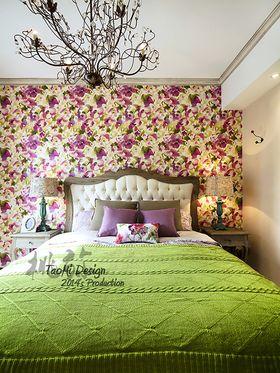 130平米三室两厅法式风格卧室欣赏图
