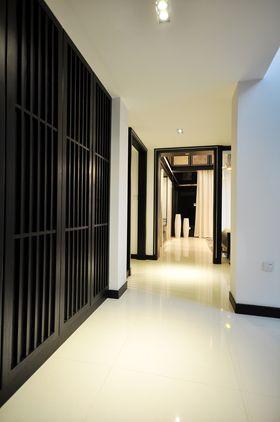 豪华型140平米别墅中式风格走廊设计图