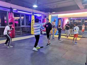 新搏击精英拳击健身俱乐部