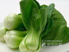久食玖砂锅煲(华府店)的油麦菜