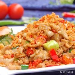 荆州土菜馆的炸肥肠炒好不用户好吃?辣椒v菜馆多的糯米饭怎么办图片