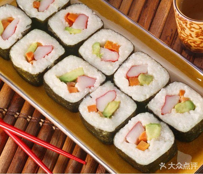 制作寿司步骤图