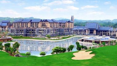 【惠州等】惠州洲际度假酒店1晚+2大1小无限次洲际温泉+2大1小早餐+2大1小晚餐-美团