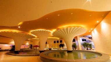 【河源等】河源巴伐利亚美思皇家酒店1晚+温泉+镜花缘+福源寺+早餐-美团
