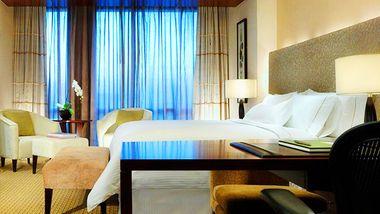 【北京等】北京金融街威斯汀大酒店+故宫博物院, 可选酒店自助早餐-美团