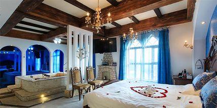 【北京等】北京美神宫温泉城堡酒店1晚+双人北京美神宫温泉城堡酒店门票+双早-美团