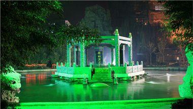 【北京等】龙脉温泉度假村+室外竹林温泉+营养早餐-美团