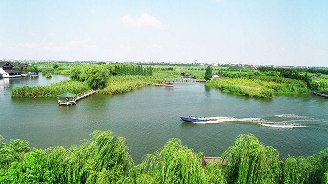 尚湖风景区位于常熟城西,虞山之南.