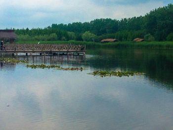 【泰州等】泰州康勃莱凤凰酒店1晚+双人溱湖国家湿地公园门票+双早-美团