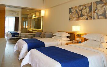【惠州等】惠州巽寮湾海公园度假公寓1晚+双人海鲜餐+双人沙滩-美团