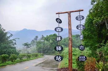 【广州等】广州小森林农家宾馆1晚+双人白水寨景区门票-美团