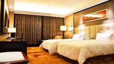【西安等】西安唐隆国际酒店1晚+双早+双人大唐芙蓉园等多景点可选-美团