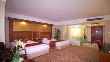 【上海等】上海宇航宾馆1晚+双人金茂大厦88层观光厅门票-美团