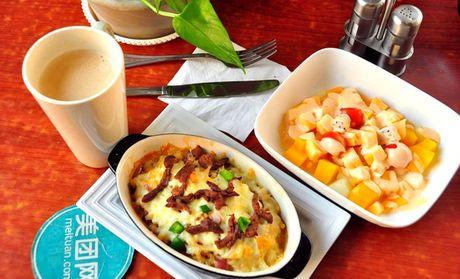 【2店通用】莉迪亞意式休閑餐廳 僅售29.9元!最高價值40元的單人套餐2選1,提供免費WiFi。