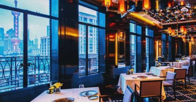 """星级奢华美食 上海""""米其林""""餐厅的传说"""