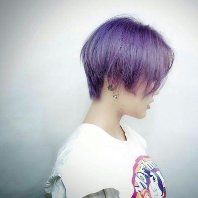 紫灰色作品图