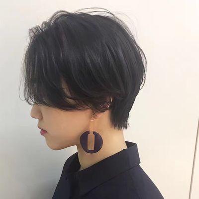 女士发型作品图