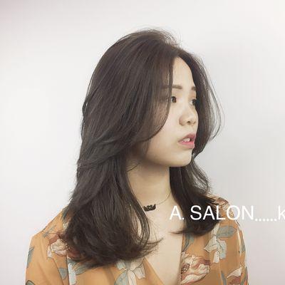 韩式烫发效果图