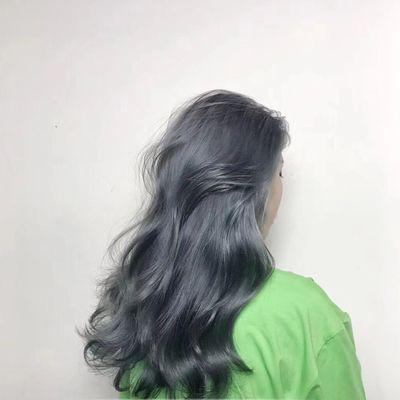 长发色彩效果图