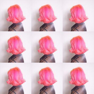 炫粉色作品图
