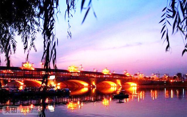 泰州国际金陵大酒店【高级房】 船游凤城河[夜游] 桃园 望海楼 自助