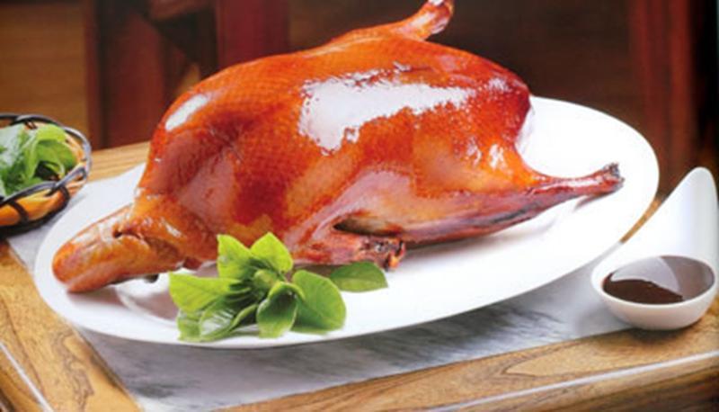 劝君上一次当品一次烤鸭_品意德北京果木烤鸭