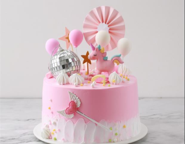 皇室创意网红生日蛋糕