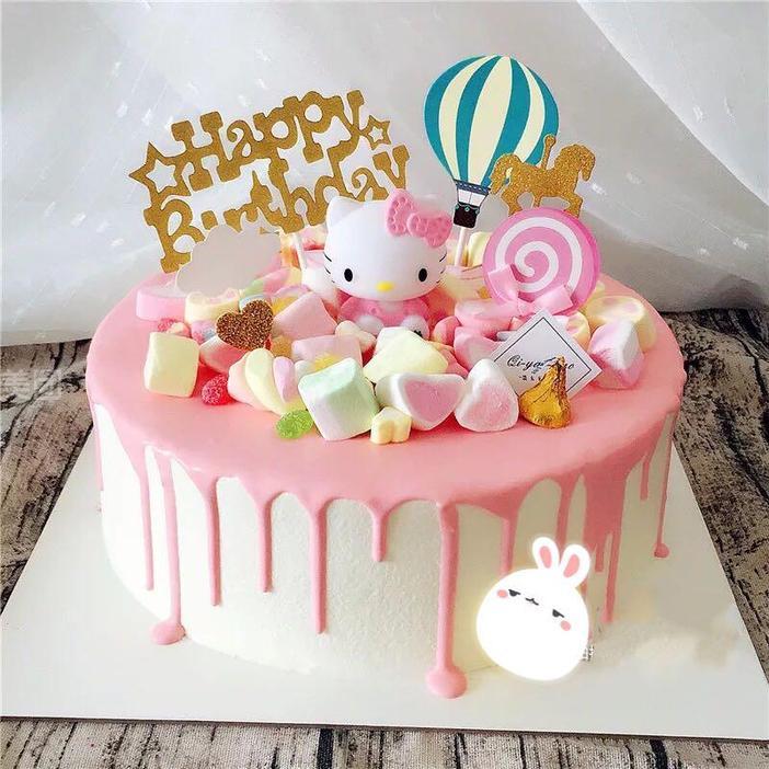悠米蛋糕_悠米拉烘焙怎么样_团购悠米拉烘焙3磅卡通kitty猫蛋糕