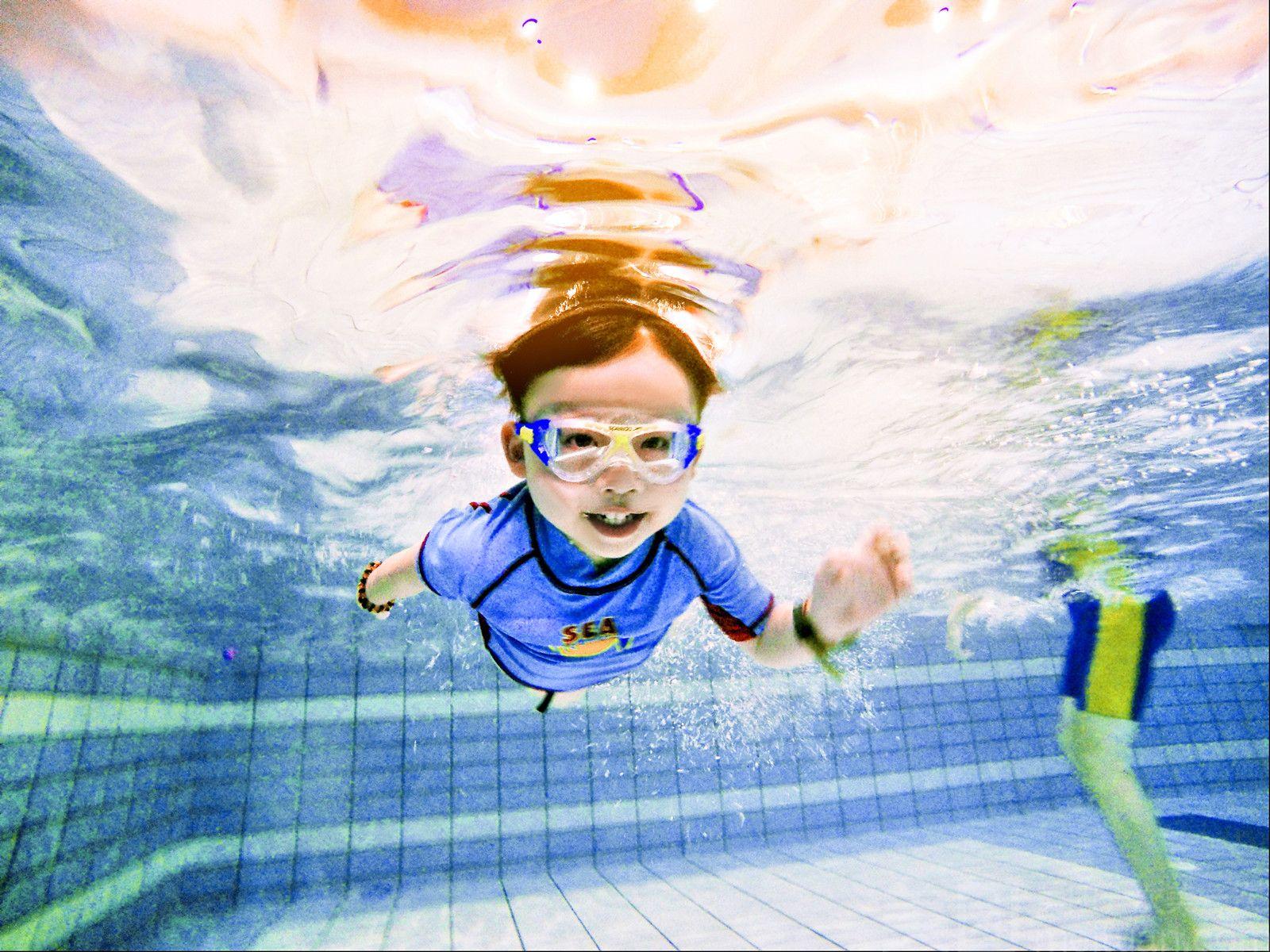 【金游宝宝亲子游泳】双11秒杀 单人亲子游泳
