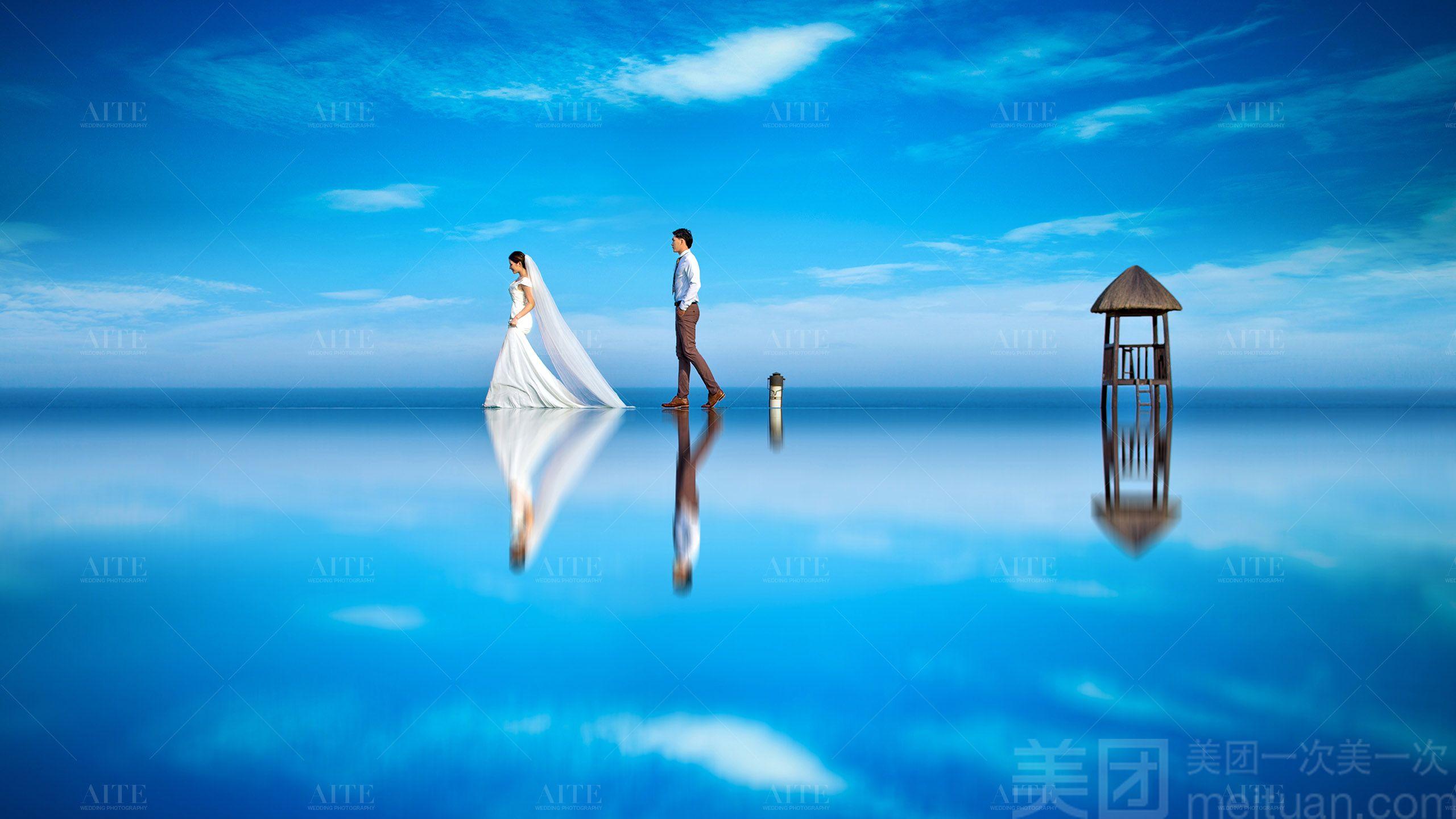 :长沙今日团购:【艾特婚纱摄影】全球旅拍-长沙+三亚(双城拍)