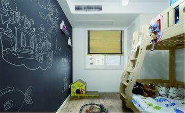 110平米三室一厅欧式风格儿童房装修案例