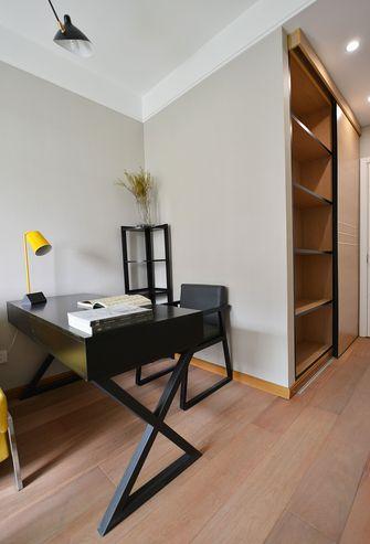 5-10万120平米三室两厅中式风格书房图片大全
