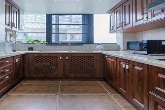90平米三室三厅美式风格厨房图片大全