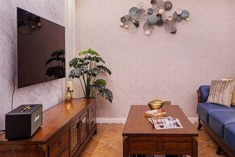 90平米三室三厅美式风格客厅欣赏图
