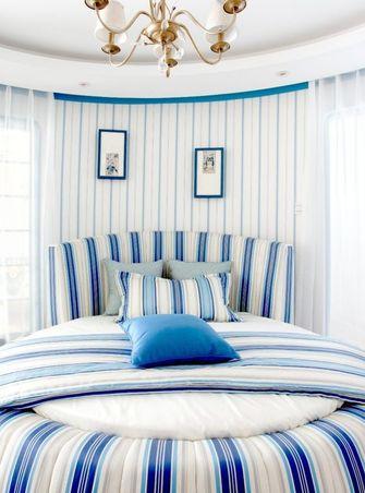 140平米三室一厅地中海风格卧室设计图