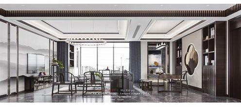 3万以下140平米三中式风格客厅装修效果图