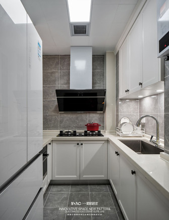 15-20万70平米北欧风格厨房设计图