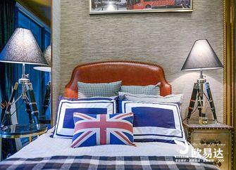 100平米英伦风格卧室图