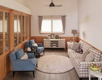 富裕型130平米复式田园风格客厅装修效果图