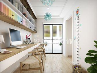 120平米三室一厅田园风格走廊图片大全