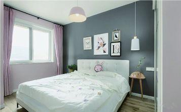 110平米三室一厅欧式风格卧室设计图
