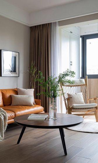 80平米三现代简约风格客厅装修案例