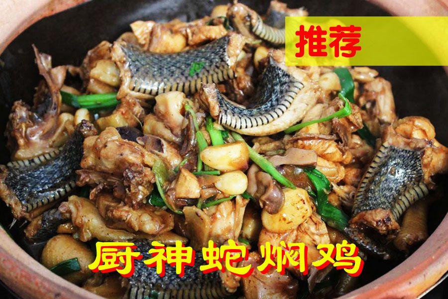 806农庄●蛇焖土鸡煲